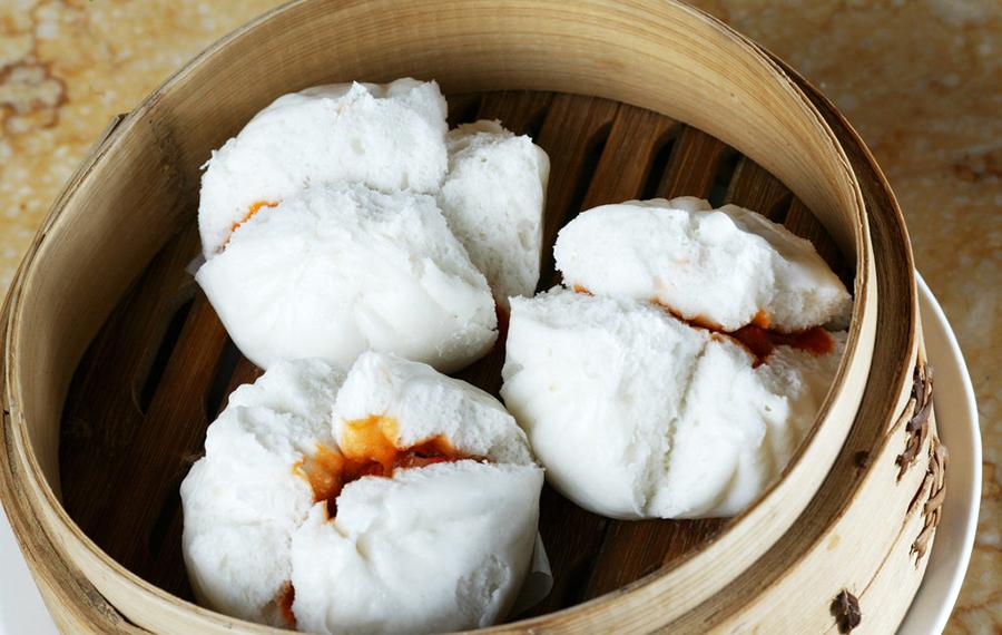 Brioche chinoise au porc – Chāshāo bāo