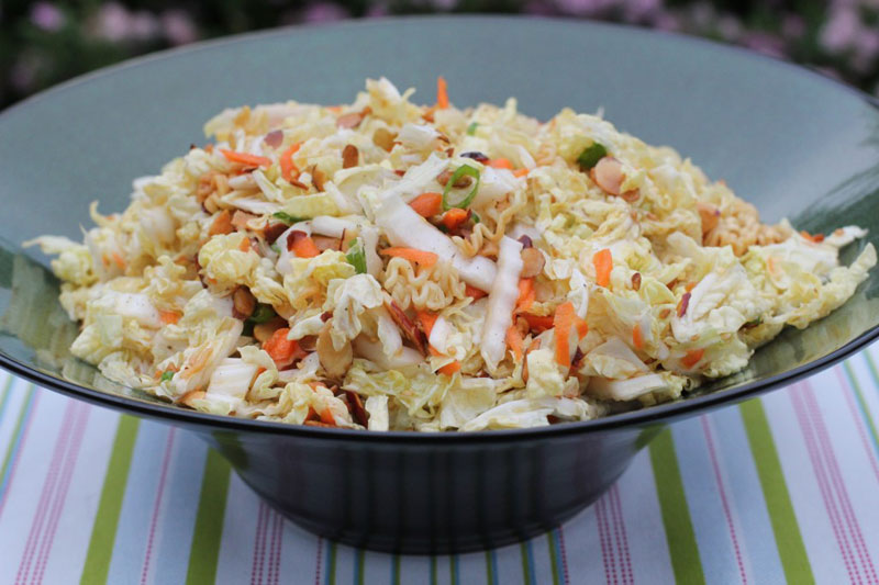 Salade chinoise au chou et pousses de soja recette - Cuisiner du chou chinois ...